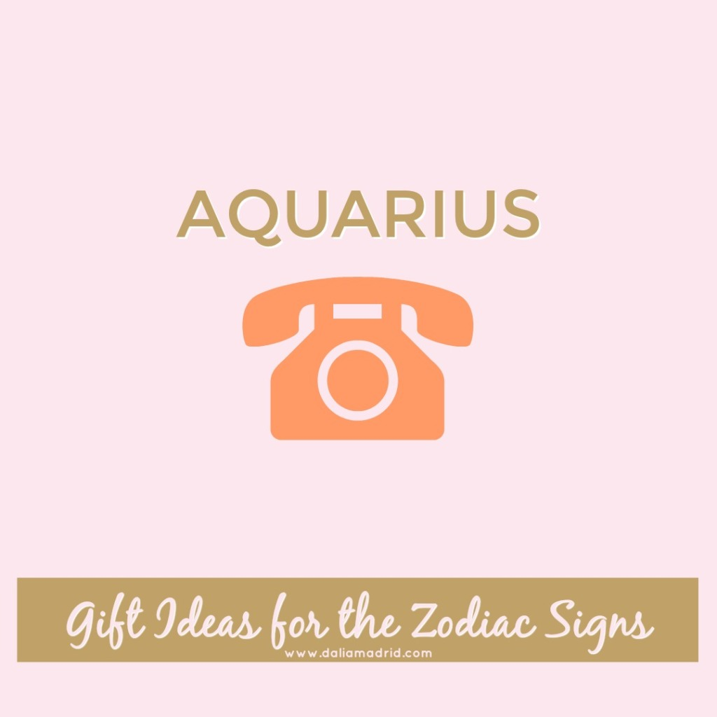 Gift idea for Aquarius: Smartphone
