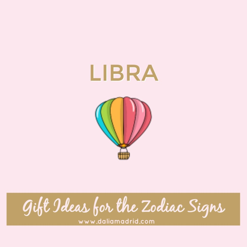 Gift idea for Libra: Hot Air Balloon Ride