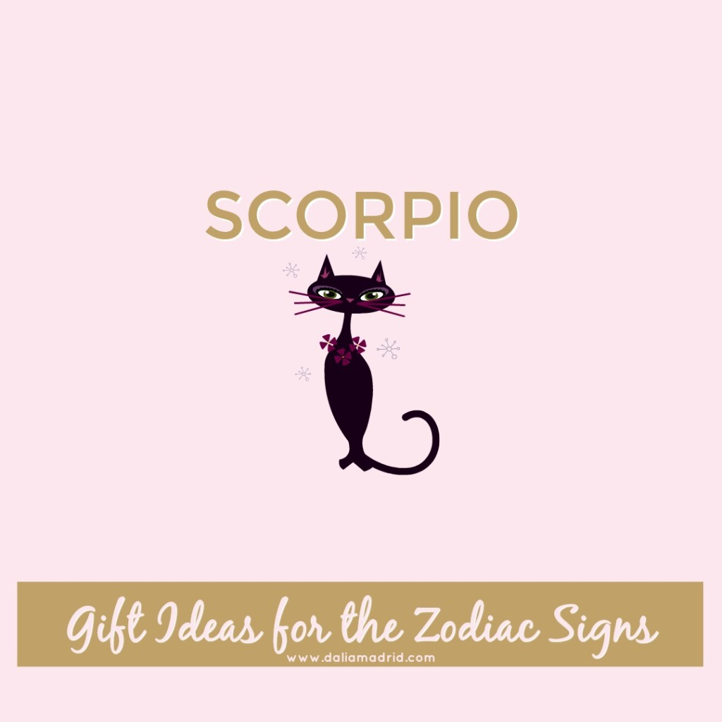 Gift idea for Scorpio: Black Cat